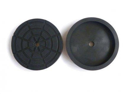 Gumová podložka zvedáku 160x30 mm
