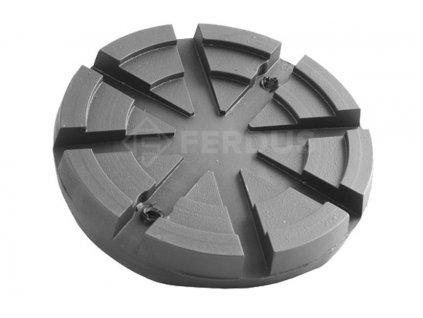 Gumová podložka zvedáku 125x24 mm
