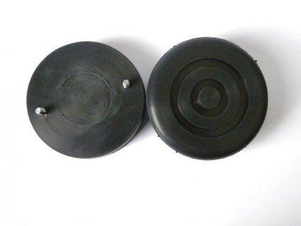 Gumová podložka zvedáku 110x35 mm