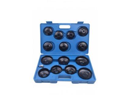 Sada klíčů na olejové filtry 15ks - QS60037