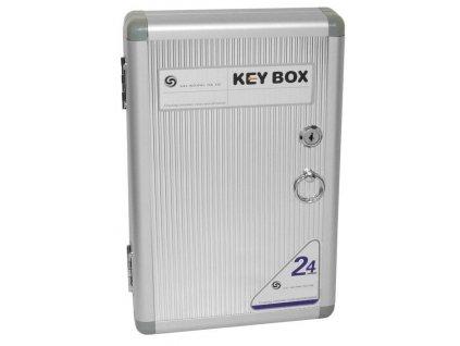 Skříňka na klíče aluminiová KS-1024