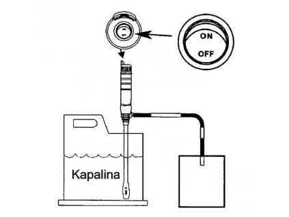 Bateriové plastové čerpadlo DB-8