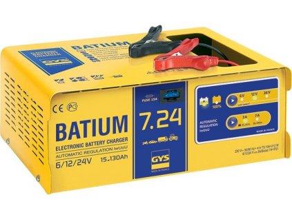 Nabíječka baterií GYS BATIUM 7.24