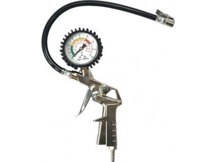 Pistolový pneuhustič s tlakoměrem TG03