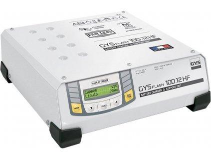 Invertorová automatická nabíječka baterií GYSFLASH 100.12 HF