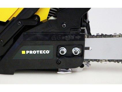 Řetězová benzínová pila PROTECO 37.2ccm, lišta 35cm