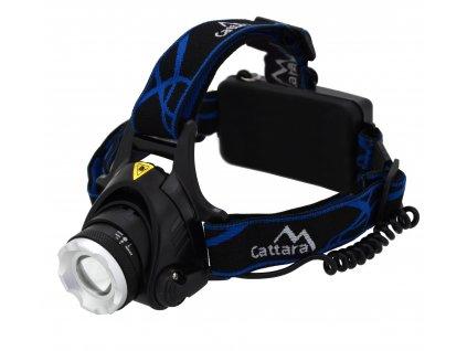 Cattara čelovka LED 6W | 570lm ZOOM | Nabíjecí