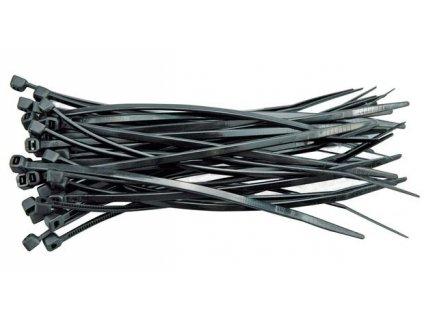 Páska stahovací 280 x 4,8 mm 100 ks černá