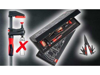 BESSEY - sada 2x GK30 GearKlamp + multifunkční nůžky