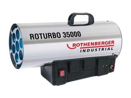 Teplogenerátor ROTURBO 35000 34kW, motor IP44 Rothenberger