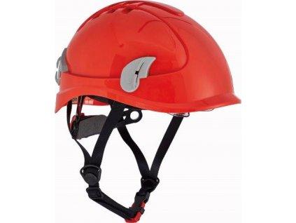 ALPINWORKER přilba WR ventilovaná HV - červená