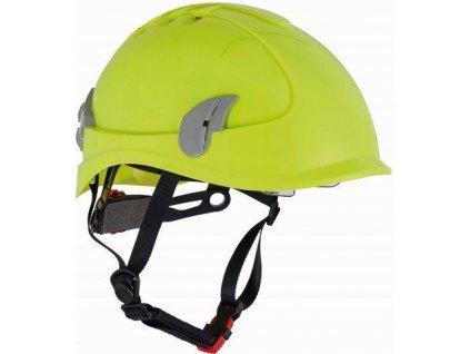 ALPINWORKER přilba WR ventilovaná HV - žlutá