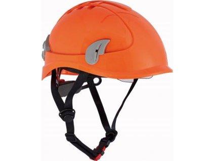 ALPINWORKER přilba WR ventilovaná HV - oranžová