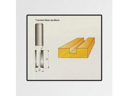 Tvarové frézy do dřeva různé typy a rozměry
