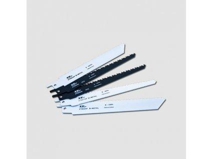 Sada pilových mečových listů Bimetal 5ks