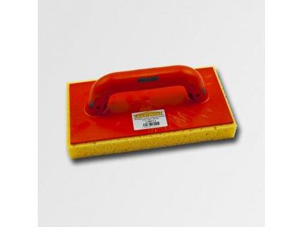 Hladítko plastové s mořskou houbou řezaný 280x140x30mm