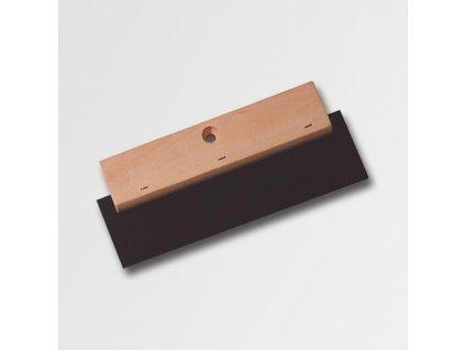 Stěrka, dřevo s tvrz.gumou, 180 mm