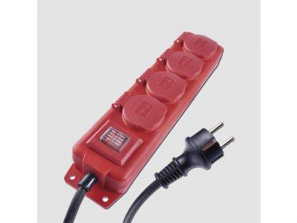 Prodlužovací kabel 4Z 10M 1,5mm IP44 GUM