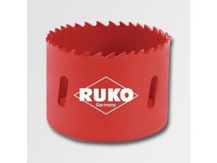 Bimetalové vykružovací korunky HSS RUKO 14 - 210 mm