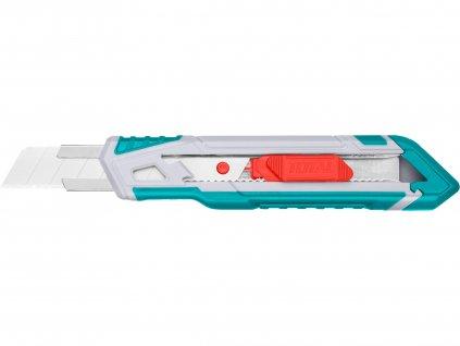 TOTAL nůž ulamovací s kovovou výztuhou, 18mm