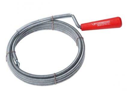 Rothenberger - kanalizační pero spirálové 6mm x 3m