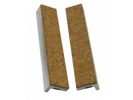 YORK - vložky do čelistí ke svěráku 125 mm (2ks) - korek