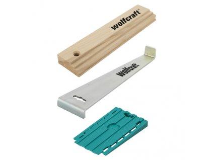 WOLFCRAFT - sada pro pokládání podlah – špalík, podložky, táhlo