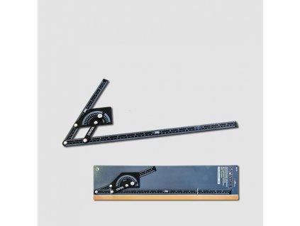 Úhloměr 230x500 mm, 180