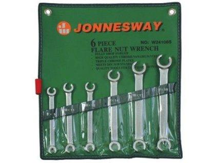 Sada klíčů na převlečné matice 8-19mm 6ks Jonneswa