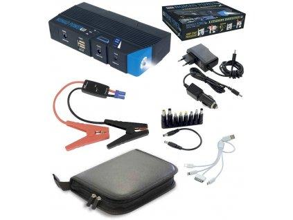 Kompaktní startovací a nabíjecí zdroj s lampou GYS NOMAD POWER 15