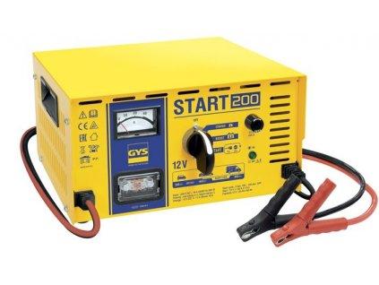 Nabíječka baterií a startovací zdroj GYS START 200