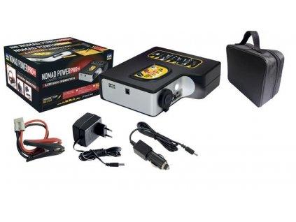 Kompaktní startovací a nabíjecí zdroj s lampou GYS NOMAD POWER PRO 90