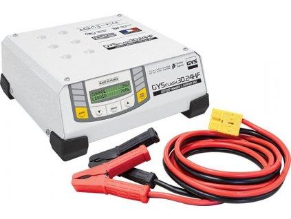 Invertorová automatická nabíječka baterií GYSFLASH 30-24 HF