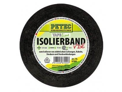 PETEC 87000 Lepicí páska pro izolaci elektrických kabelů