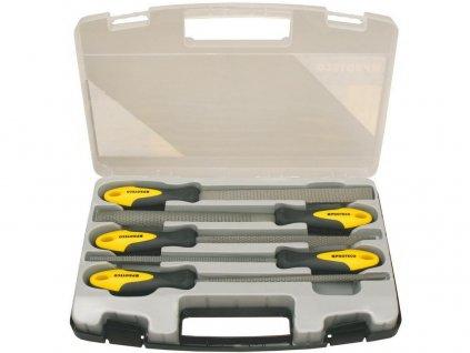 PROTECO sada rašplí 5-dílná 200mm v plast. kufru