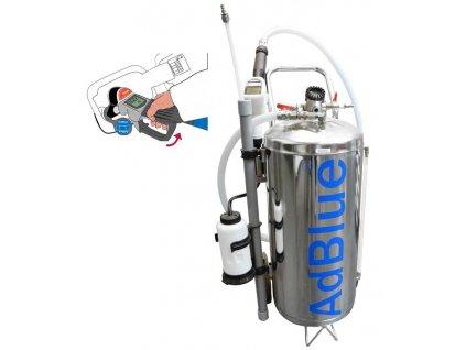 Pojízdná pneumatická plnička AdBlue HU46020