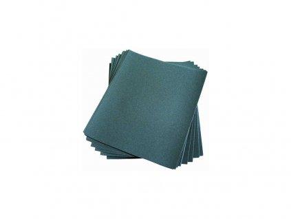Papír brusný voděodolný 230 x 280 mm, zrnitost 100