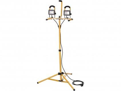 EXTOL LIGHT reflektor LED, 2x800lm, se stojanem 125cm