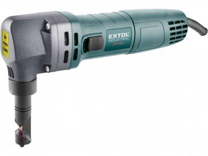 EXTOL INDUSTRIAL nůžky na plech, prostřihovačky elektrické, 600W