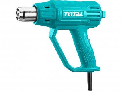 TOTAL Pistole horkovzdušná, 2000W, industrial