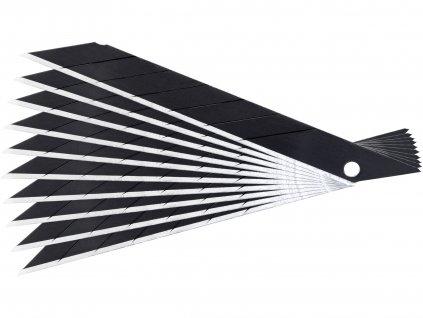 EXTOL PREMIUM břity ulamovací do nože, 9mm, 10ks, SK2