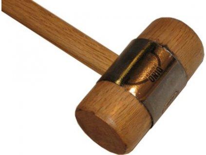Autokarosářská dřevěná palička HH 640 HOC