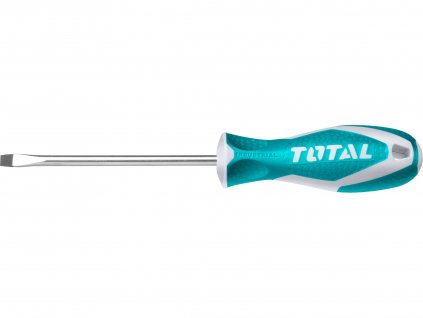 TOTAL šroubovák plochý, industrial, (-) 8x150mm, CrV
