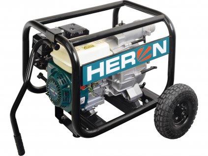 HERON čerpadlo motorové kalové 6,5HP, 1300l/min