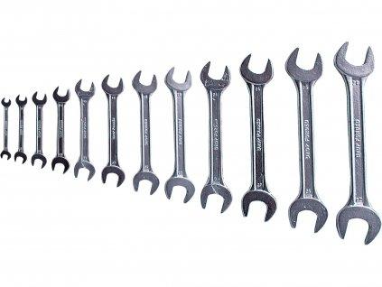 EXTOL CRAFT klíče ploché, sada 12ks, 6-32mm