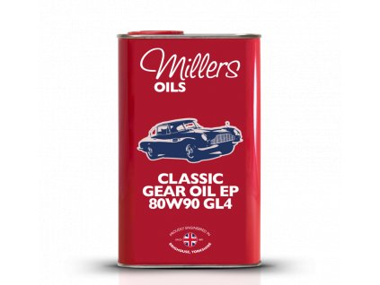 Classic Gear Oil EP 80w90 GL4 1