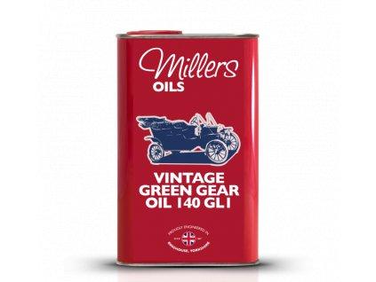 Vintage Green Gear Oil 140 GL1 1
