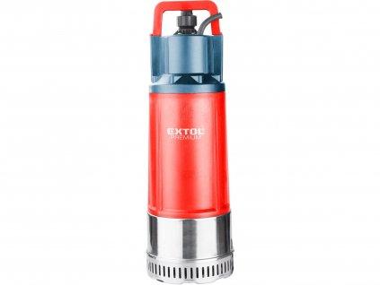 EXTOL PREMIUM čerpadlo/vodárna ponorné tlakové, 1200W, 6000l/h