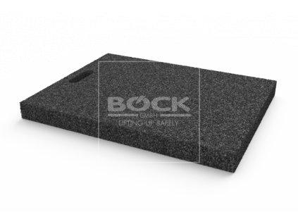 Gumová výplňová podložka 600x465x50 mm