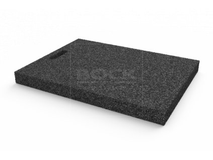 Gumová výplňová podložka 650x450x50 mm